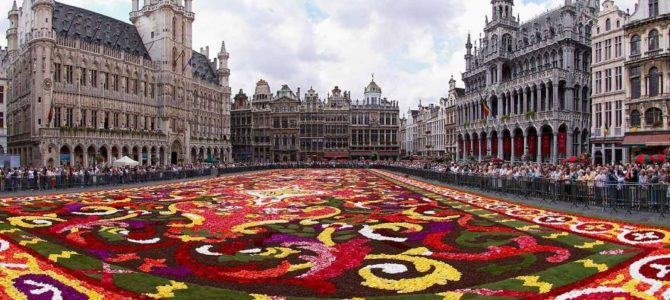 Brussels Flower Carpet (Brussels, August 2020)