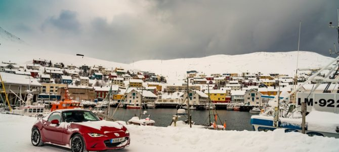 An insane road trip through the Arctic Circle in a Mazda MX-5 with the roof down – Norway, Finland, Sweden
