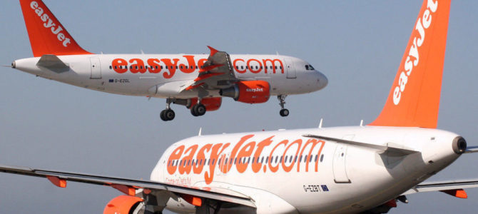 After 11 weeks of being grounded, the first easyJet flight takes to the skies