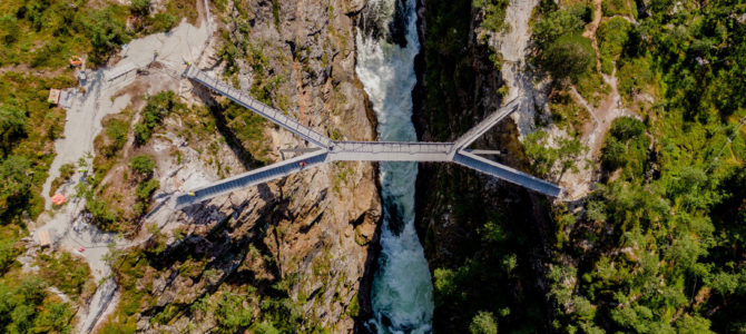 This New Bridge Lets You Walk Over One of Norway's Most Stunning Waterfalls