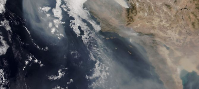 The Smoke from West Coast Wildfires Is Blowing East over the U.S. — and It's Visible from Space