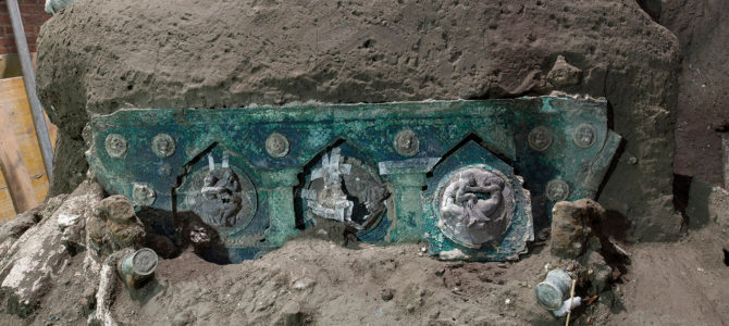 Ancient Chariot Found Almost Perfectly Preserved in Pompeii Ruins